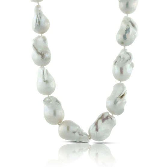 Baroque Freshwater Cultured Pearl Strand 14K