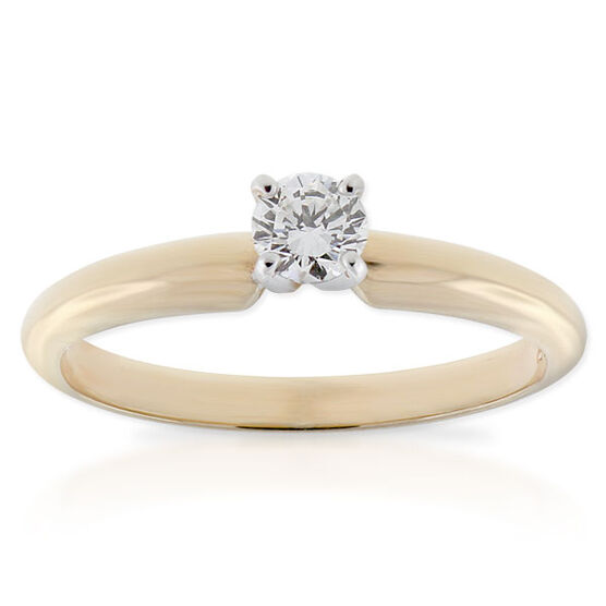 Ikuma Canadian Diamond Ring 14K, 1/4 ct.