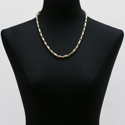 Toscano Stampado Necklace 14K