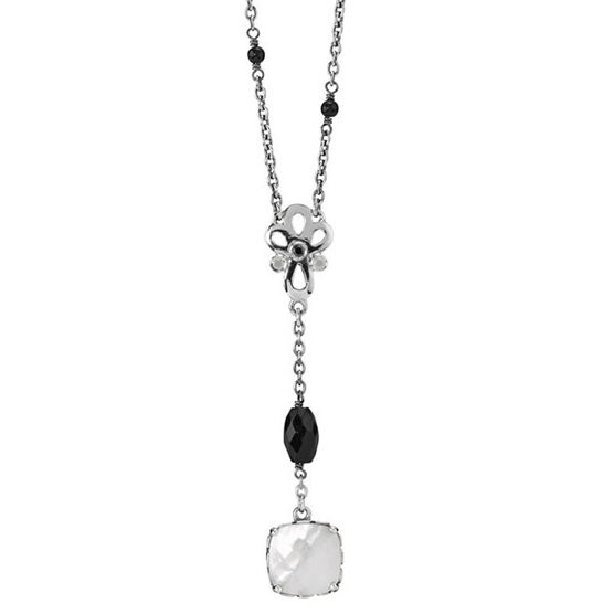 PANDORA  Mother-of-Pearl Path Necklace RETIRED