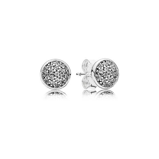 Pandora Dazzling Droplets CZ Earrings