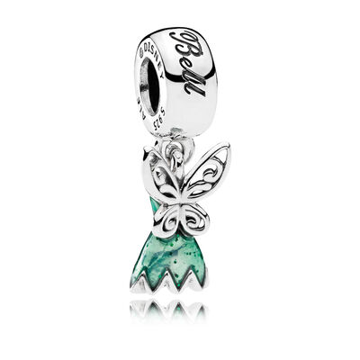 PANDORA Disney, Tinker Bell's Dress Charm