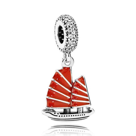 PANDORA Chinese Junk Ship Dangle Charm