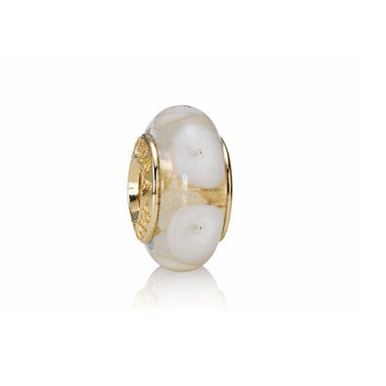 PANDORA White Mystic Charm 14K - RETIRED