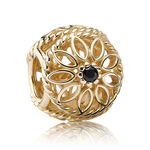 PANDORA Delicate Beauty Charm 14K