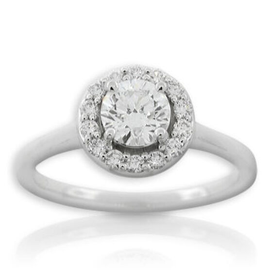 Forevermark Diamond Ring 14K, 3/4 ct. center