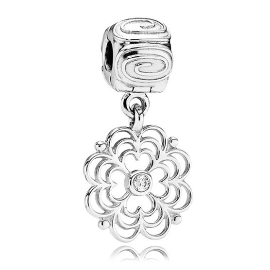 PANDORA Dogwood Clip RETIRED