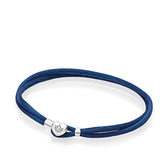 PANDORA Dark Blue Fabric Cord Bracelet
