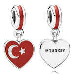 PANDORA Turkey Heart Flag