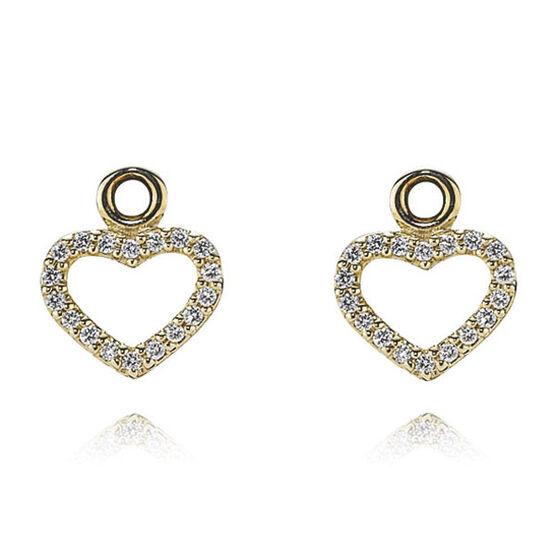 PANDORA Be My Valentine Earring Charm 14K  RETIRED