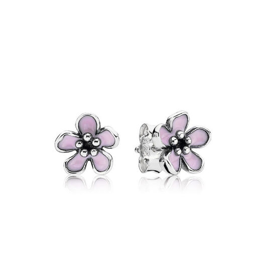 PANDORA Cherry Blossom Earrings