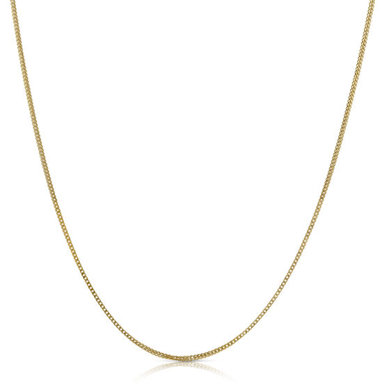 Solid Yellow Gold Franco Chain 14K, 24""