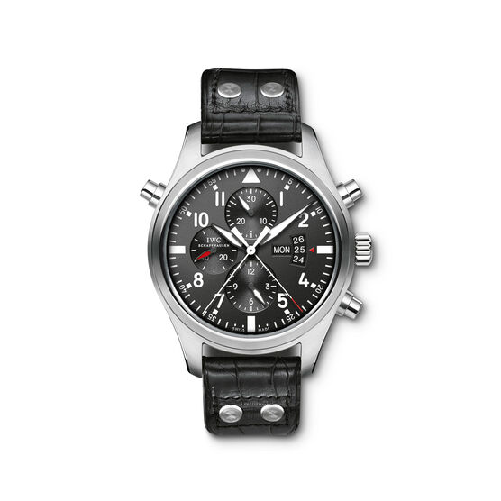 IWC Double Chronograph Pilot Watch