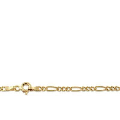 "Figaro Link Chain 14K, 18"""