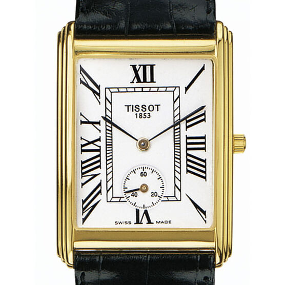 Tissot New Helvetia Watch 18K