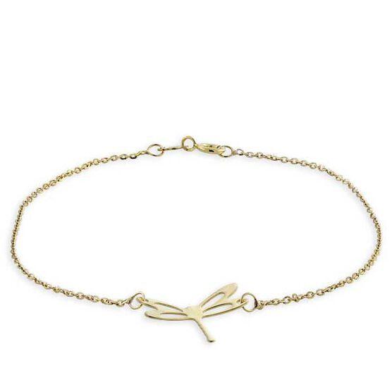 Dragonfly Bracelet 14K