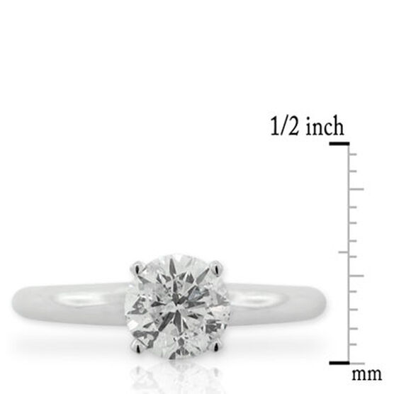 Diamond Solitaire Ring 14K, 1 ct.