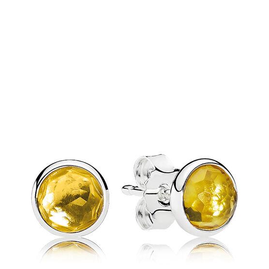 PANDORA November Droplets Earrings