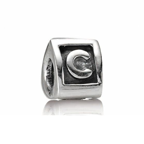 PANDORA Alphabet 'C' Charm RETIRED