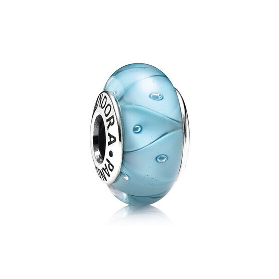 PANDORA Turquoise Looking Glass Charm