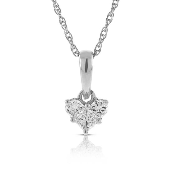Diamond Pendant 14K