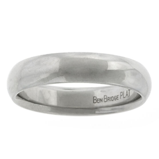 5mm Comfort Fit Band in Platinum, Size 10