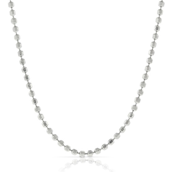 "Sliding Length Bead Chain 22"" 14K"