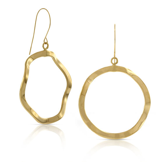 Dangle Earrings 14K