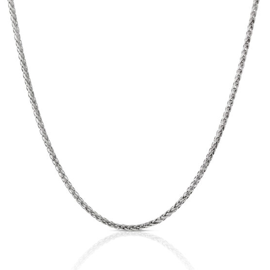 Diamond Cut Wheat Chain 14K, 18""