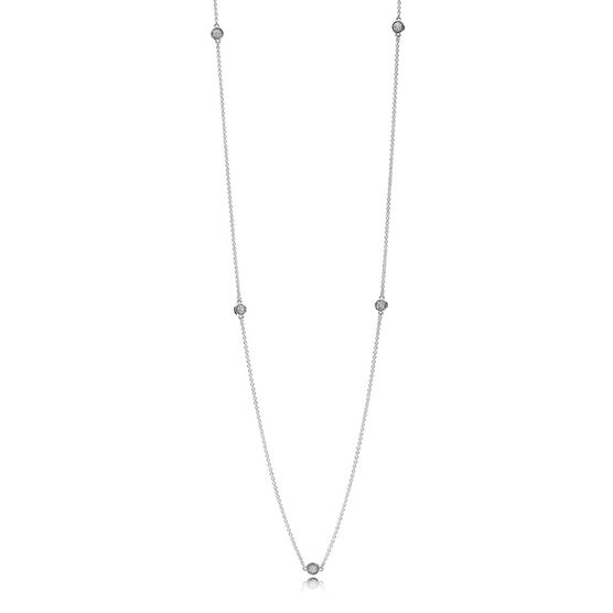 PANDORA Dazzling Dainty Droplets CZ Necklace