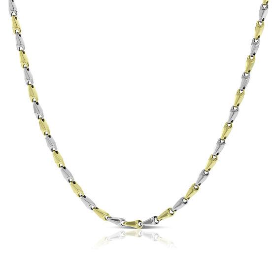 Toscano Stampato Necklace 14K
