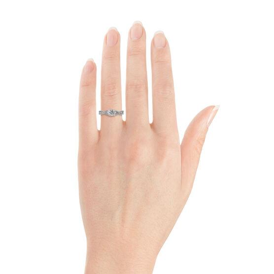 Ben Bridge Signature Diamond™ Engagement Ring in 14K