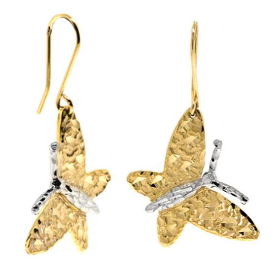 Butterfly Earrings 14K