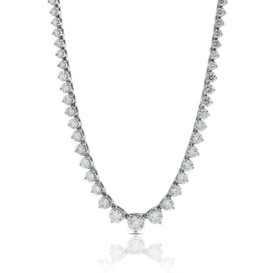 Riviera Diamond Necklace 8 ctw. 14K