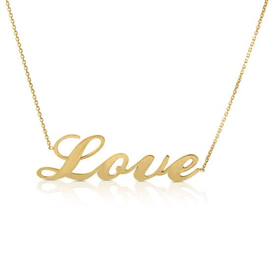 LOVE Necklace 14K