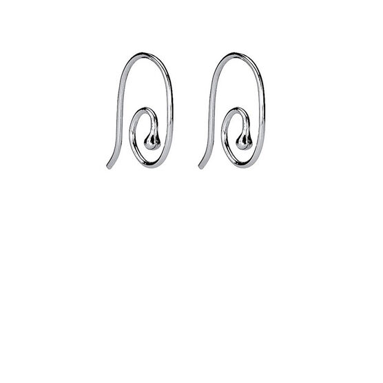 PANDORA Smooth Medium Earring Post Earrings