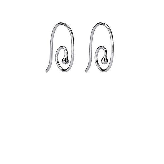 PANDORA Smooth Medium Earring Post Earrings