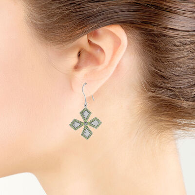 Lisa Bridge Peridot Earrings