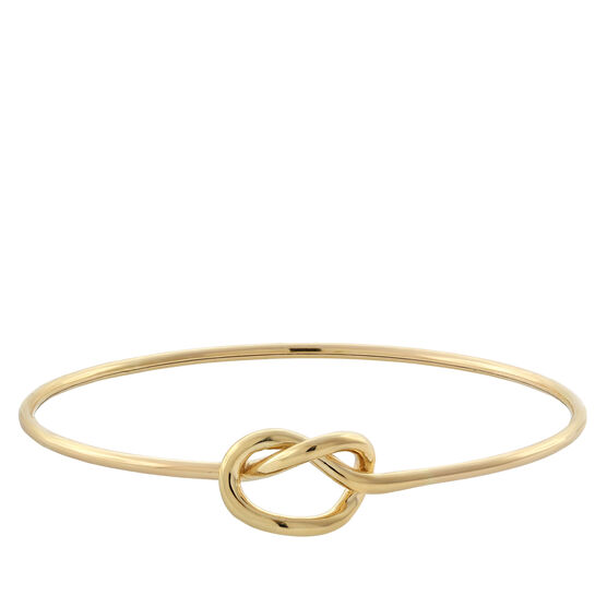 Toscano Collection Knot Bangle 18K