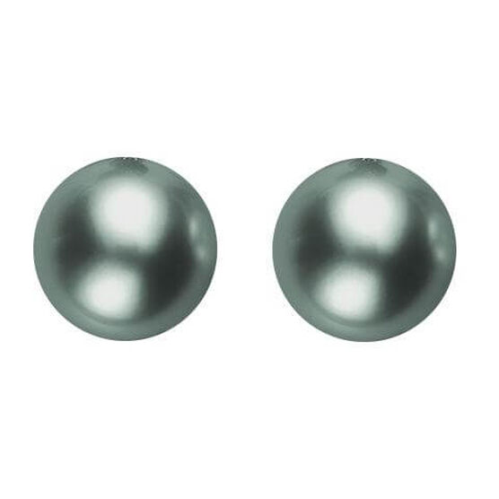 Mikimoto Tahitian Cultured Pearl Earrings, 8mm, 18K