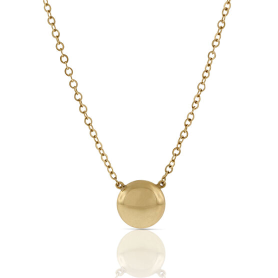 Gold Dot Necklace 14K