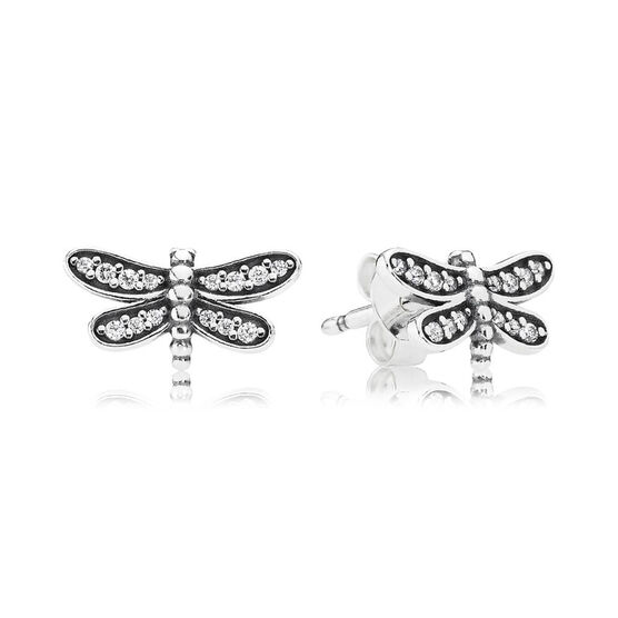 PANDORA Petite Dragonfly Earrings