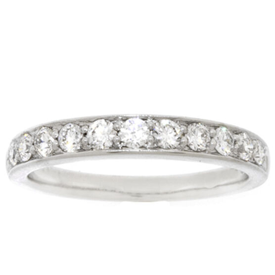 Diamond Band in Platinum