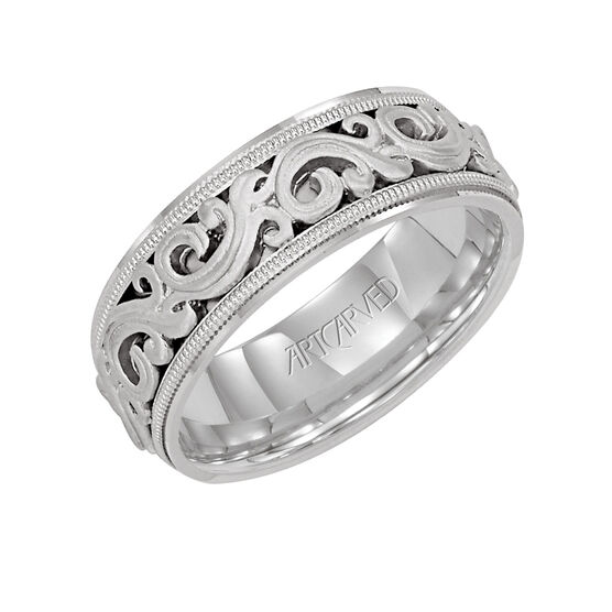 Men's ArtCarved Ring 14K