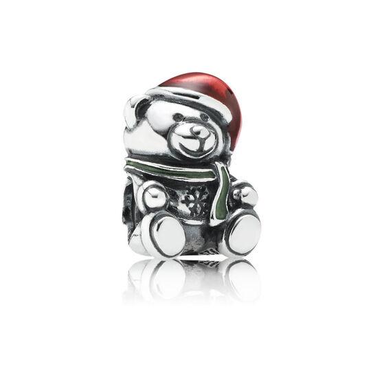 PANDORA Christmas Bear Charm