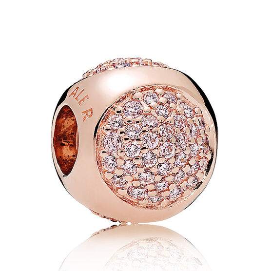 PANDORA Rose™ Dazzling Droplet Pink CZ Charm