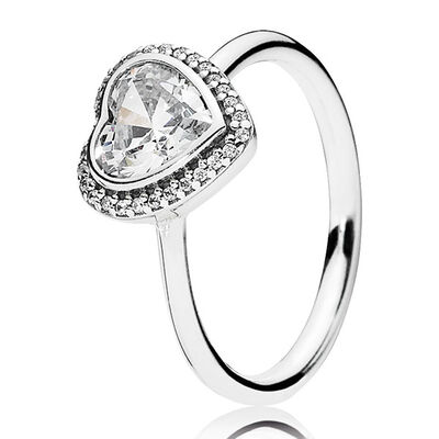 pandora sparkling love ring - Pandora Wedding Rings