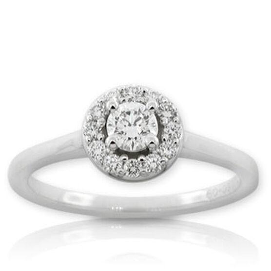 Forevermark Diamond Ring 14K, 1/4 ct. center