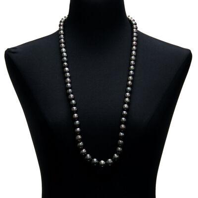 """Tahitian Cultured Pearl Strand 34"""" 18K"""