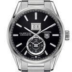TAG Heuer Carrera Calibre 8 GMT & Grande Date Watch, 41mm